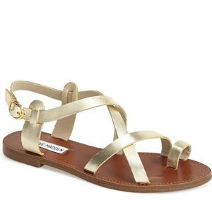 Steve madden Agathist Leather Strappy Sandals